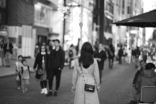 Wife in Ginza