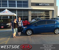 #HappyBirthday to Holly from Deyvi Hurtado at Westside Kia!