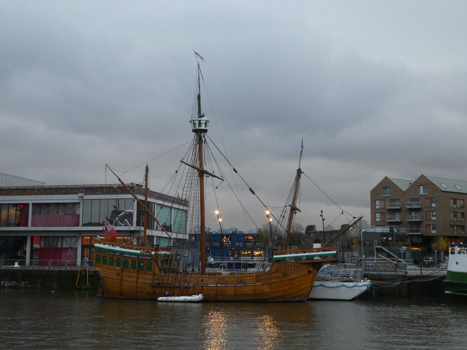 Historic ships, Bristol Harbour