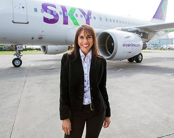 Sky, Carmen Gloria Serrat, directora comercial Sky (Sky)