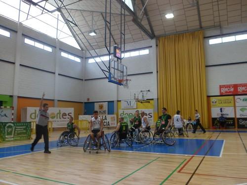 Baloncesto en Silla de Ruedas Vistazul Copa Andalucía