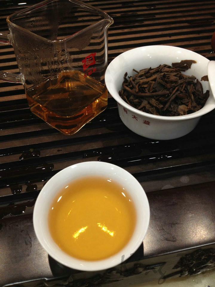 2003 DaYi 301 batch 7222 Puer Puerh Raw Tea Sheng Cha (Sold on chunk)
