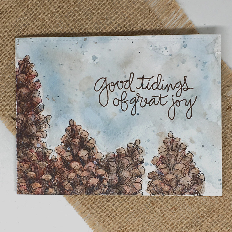 Good tidings of great joy - Christmas card