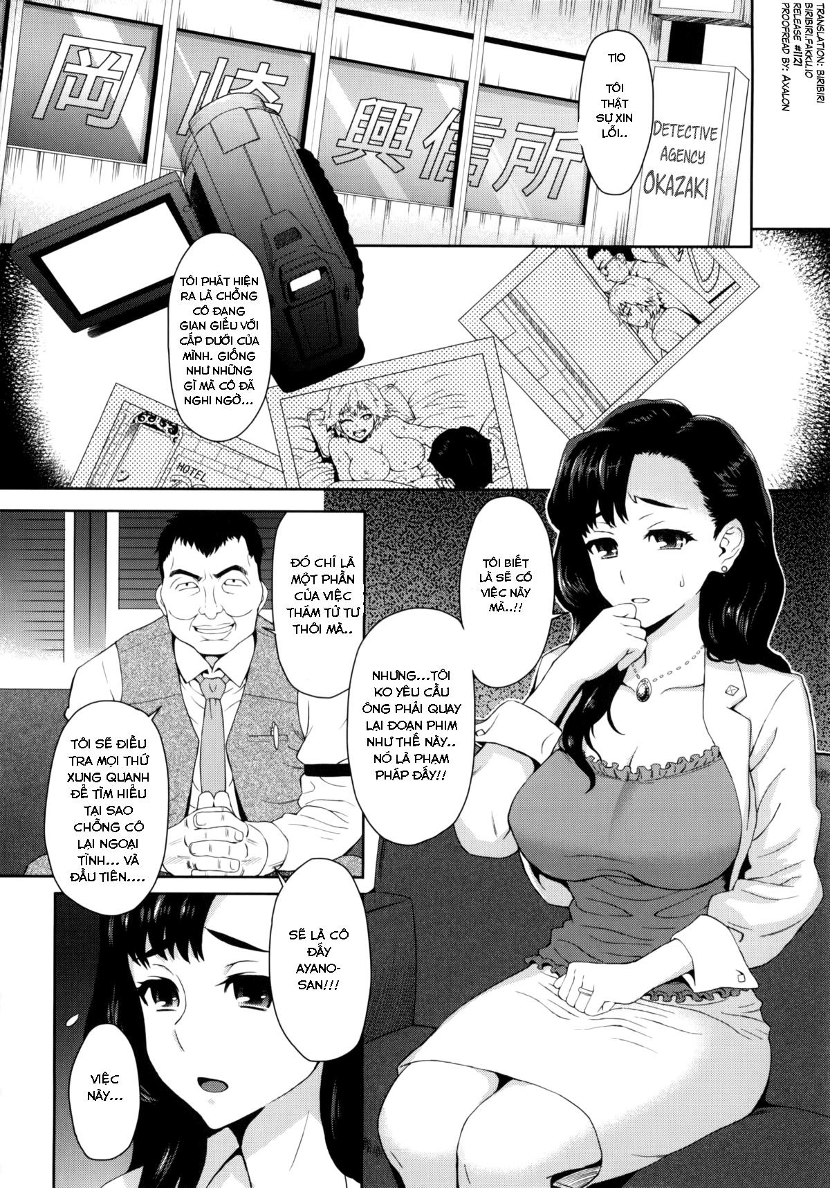 HentaiVN.net - Ảnh 5 - Cái Giá Của Ngoại Tình - Risou no Tsuma | An Ideal Wife - Oneshot