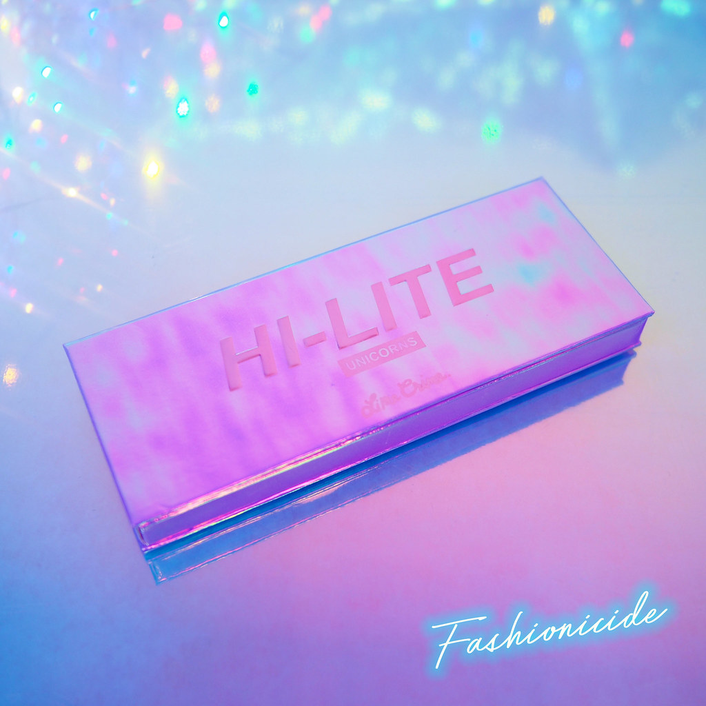 Lime Crime Hi-Lite Unicorns Highlighter pink green mauve palette Daydreamin Frolic and Happyland