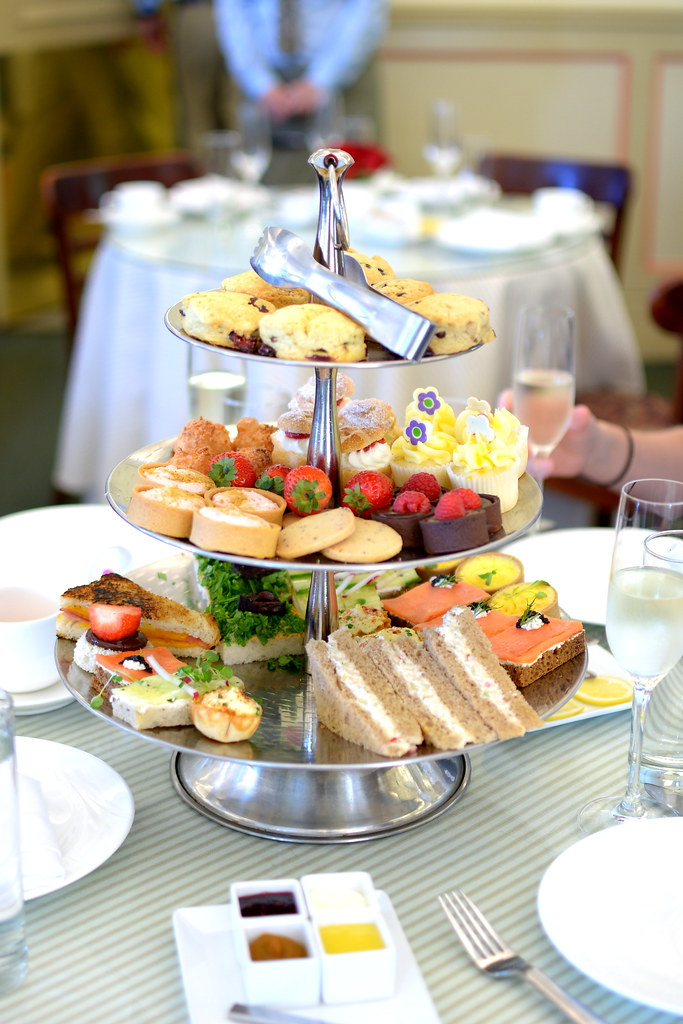 Afternoon Tea at The Huntington's Rose Garden Tea Room