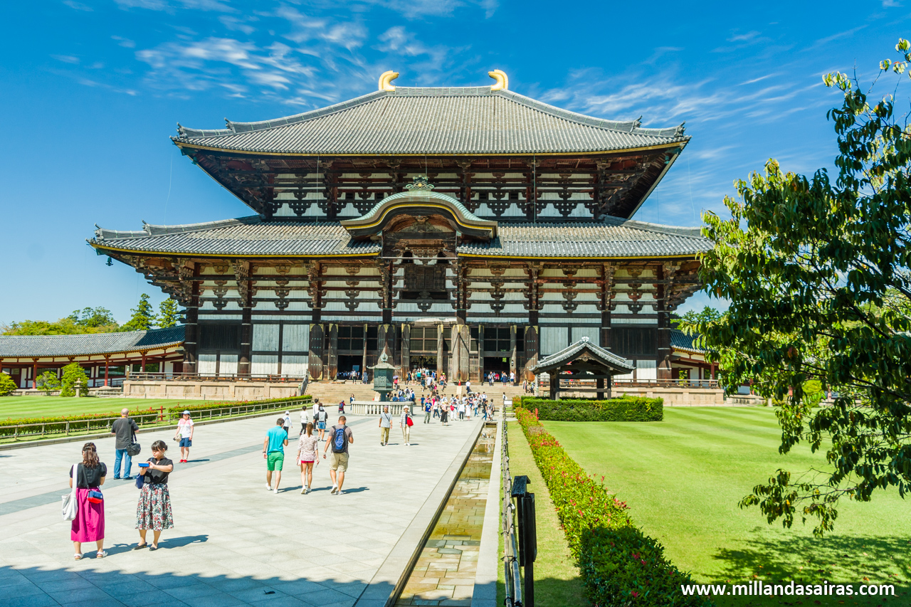 Templo Tōdai-ji en Nara