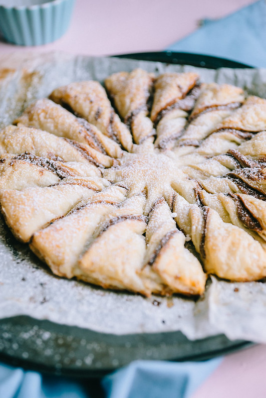 puff pastry dessert idea - vegan