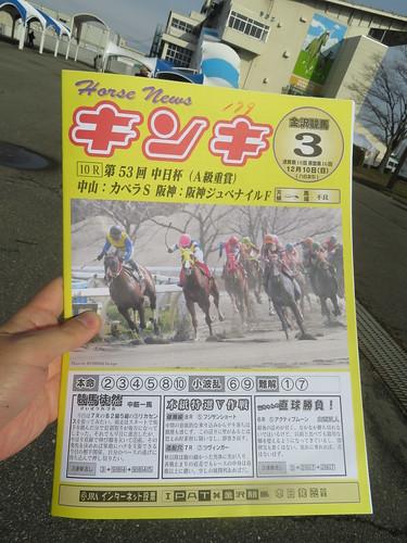 金沢競馬場の新聞