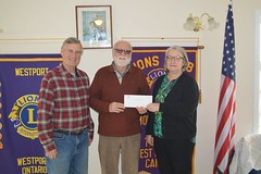 Donation to Rideau Lakes Pickle Ball Club