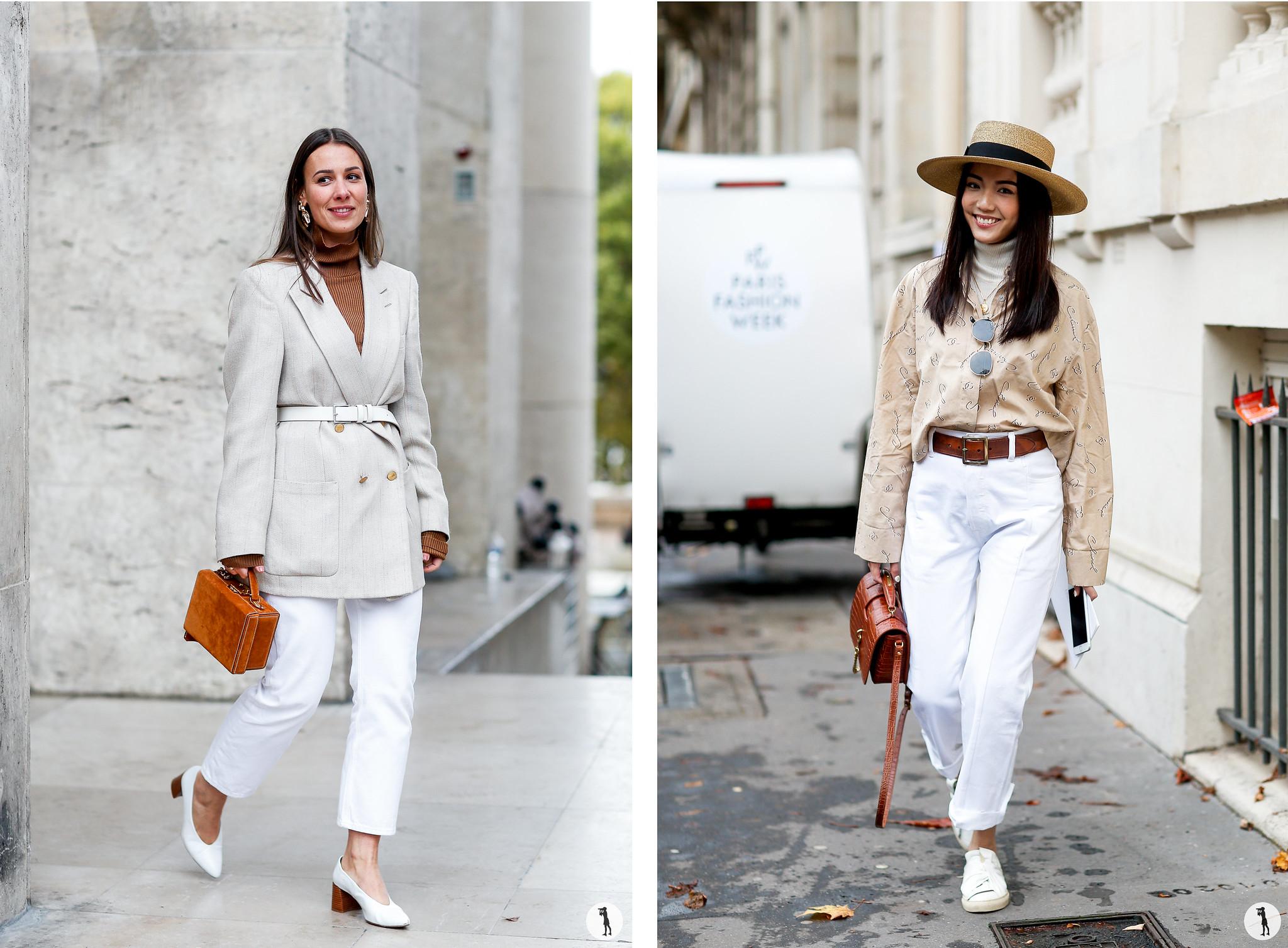 Alice Jaimetoutcheztoi and Yoyo Cao - Paris Fashion Week SS18