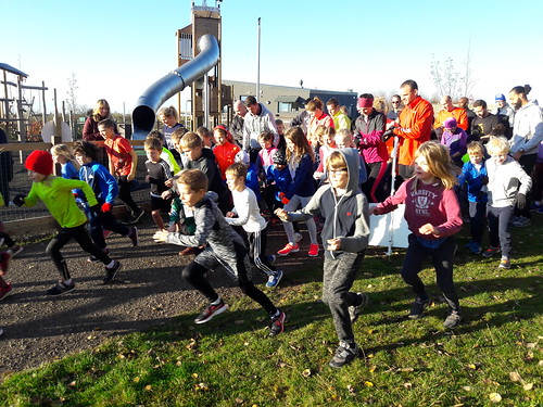 Gedling junior parkrun 12th november 2017