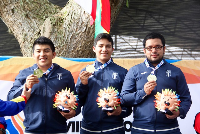Día 5 tiro deportivo y caza, Juegos Bolivarianos 2017
