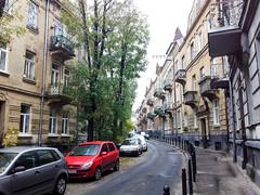 Lviv'de Tarihi Binalar ve Sokaklar