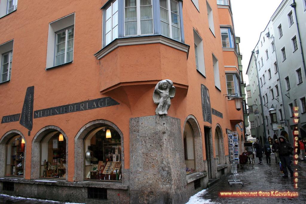 Инсбрук — город в Австрии фотопейзажи