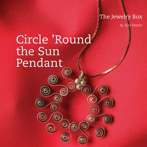 Circle 'Round the Sun Quilled Pendant Tutorial