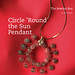 Circle 'Round the Sun Pendant by all things paper