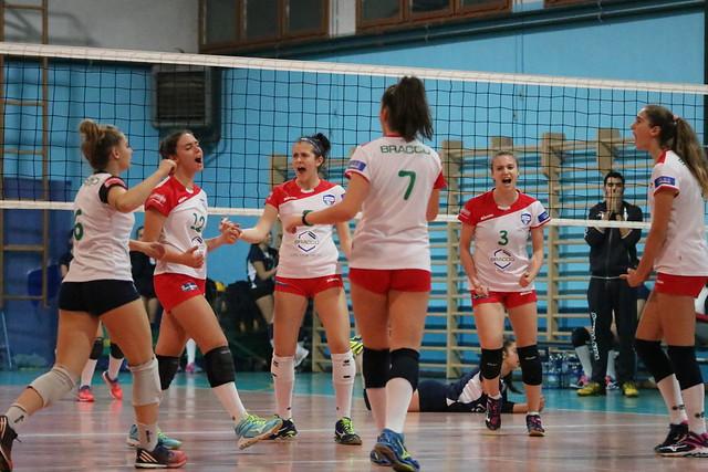 U18 Blu 22 Novembre 2017 Bracco Pro Patria  - Viscontini Volley 3 - 0