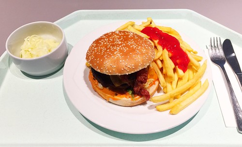 Cheeseburger & Pommes Frites