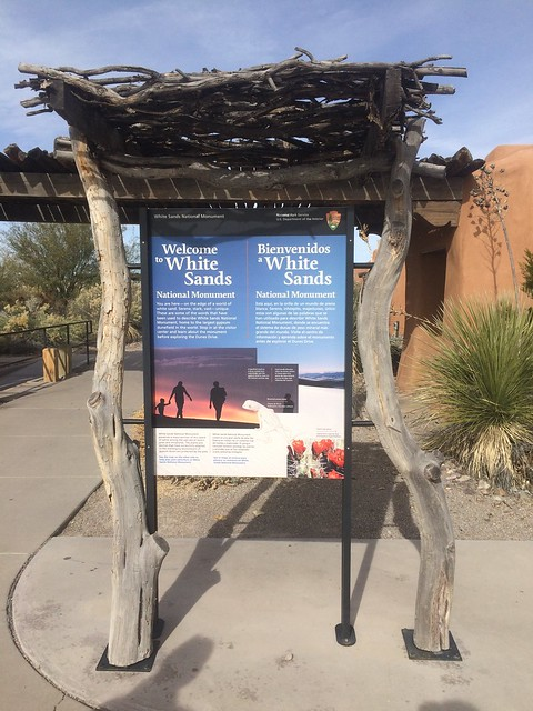 White Sands Entrance