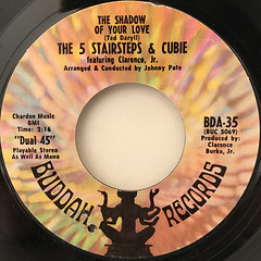 THE FIVESTAIR STEPS & CUBIE FEATURING CLARENCE JR.(LABEL SIDE-A)