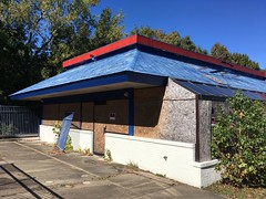 Abandoned Burger King in Woodford