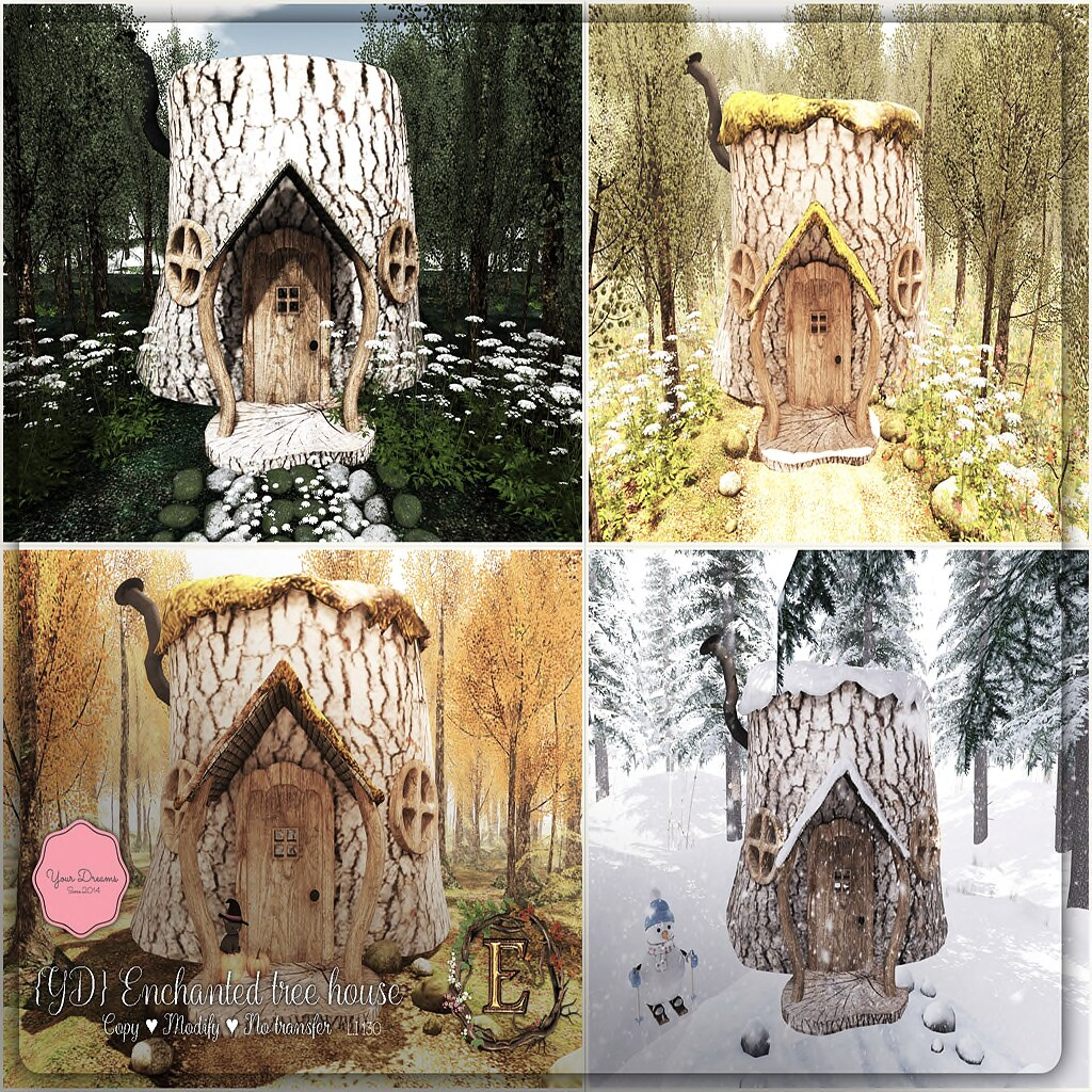 {YD} Enchanted tree house - TeleportHub.com Live!