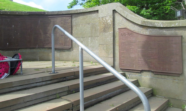 Wick War Memorial Wall 1