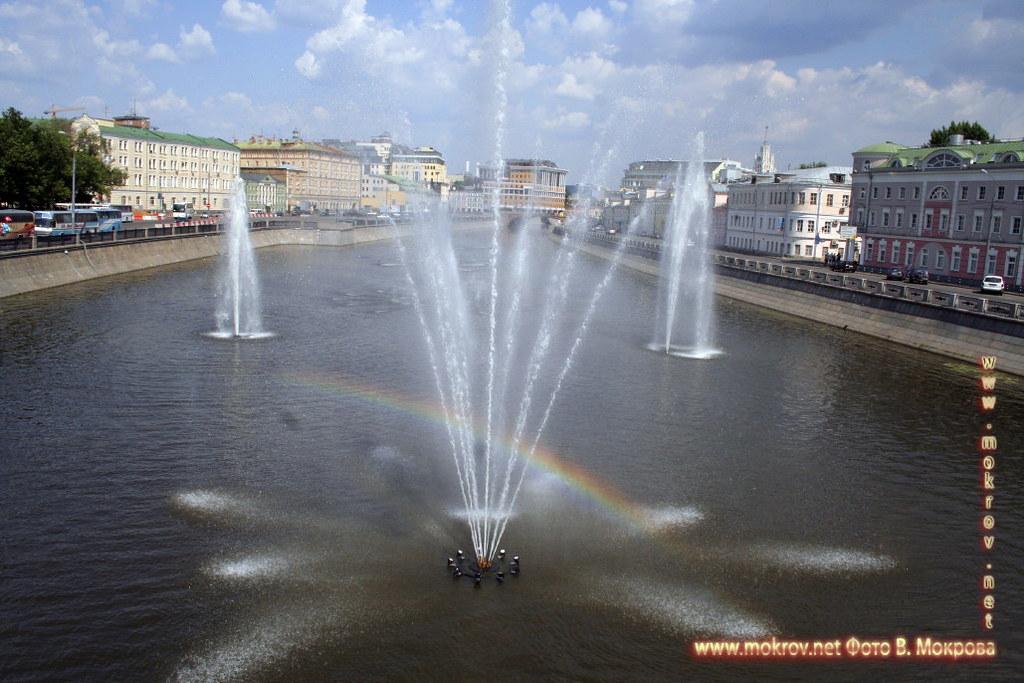 Фонтаны на Водоотводном канале