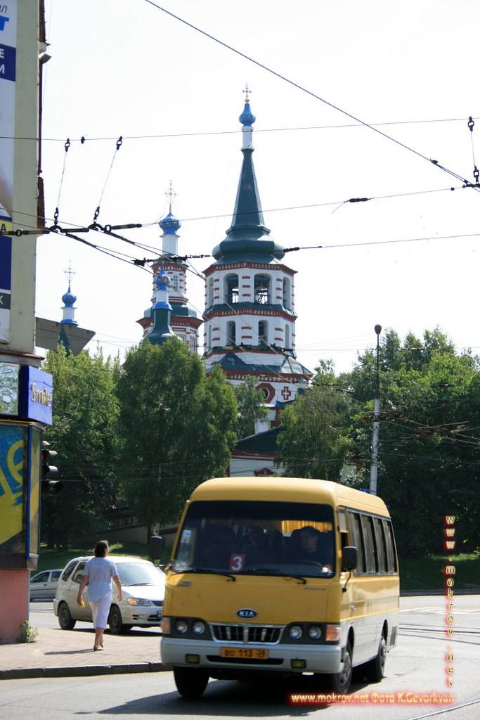 Город Иркутск фотозарисовки