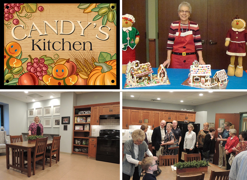 Candy's Kitchen Dedication