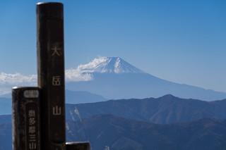 富士山@大岳山