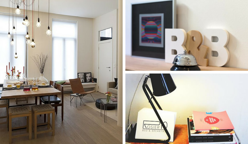 A place to stay: B&B Rosier10, Antwerpen