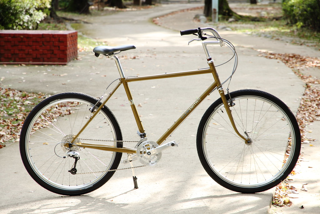 *RIVENDELL* clem smith jr. complete bike (H-style/mustard/52)