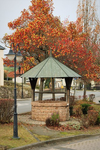 The village's old water well
