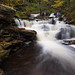 Delaware Falls - Below in the Flow by Ken Krach Photography