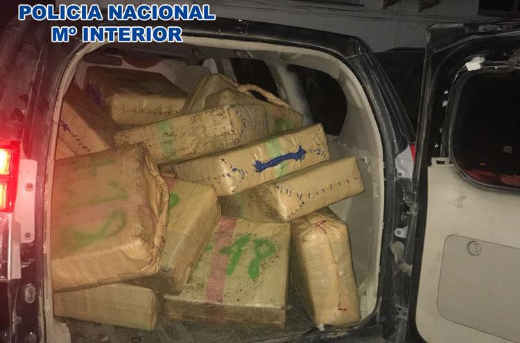 2017-11-15 La Línea Hachís y  Vehiculos Recuperados (1)1
