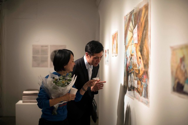 RU EXHIBITION: A PART OF IT, Chen An-An, Chang Yun Han and Carolina Paz