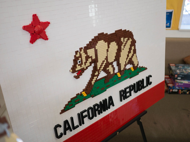 California flag @ EBMMF 2017
