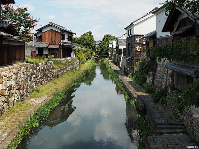 近江八幡 八幡堀