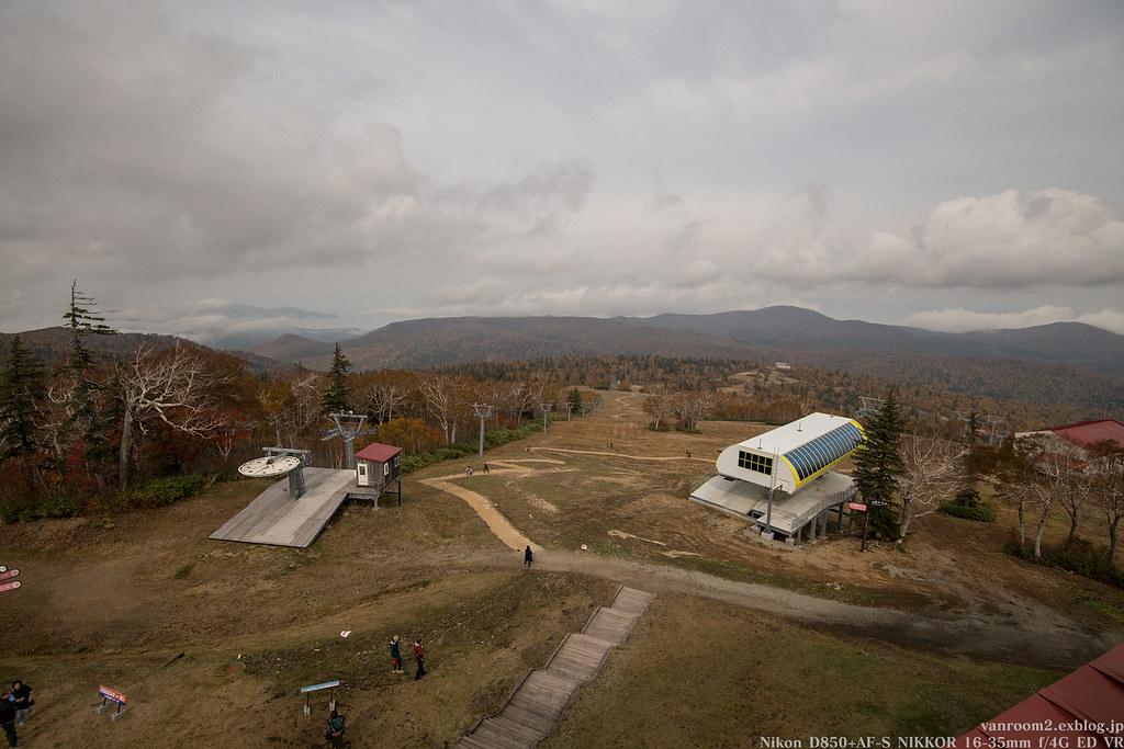 札幌国際スキー場 紅葉ゴンドラ