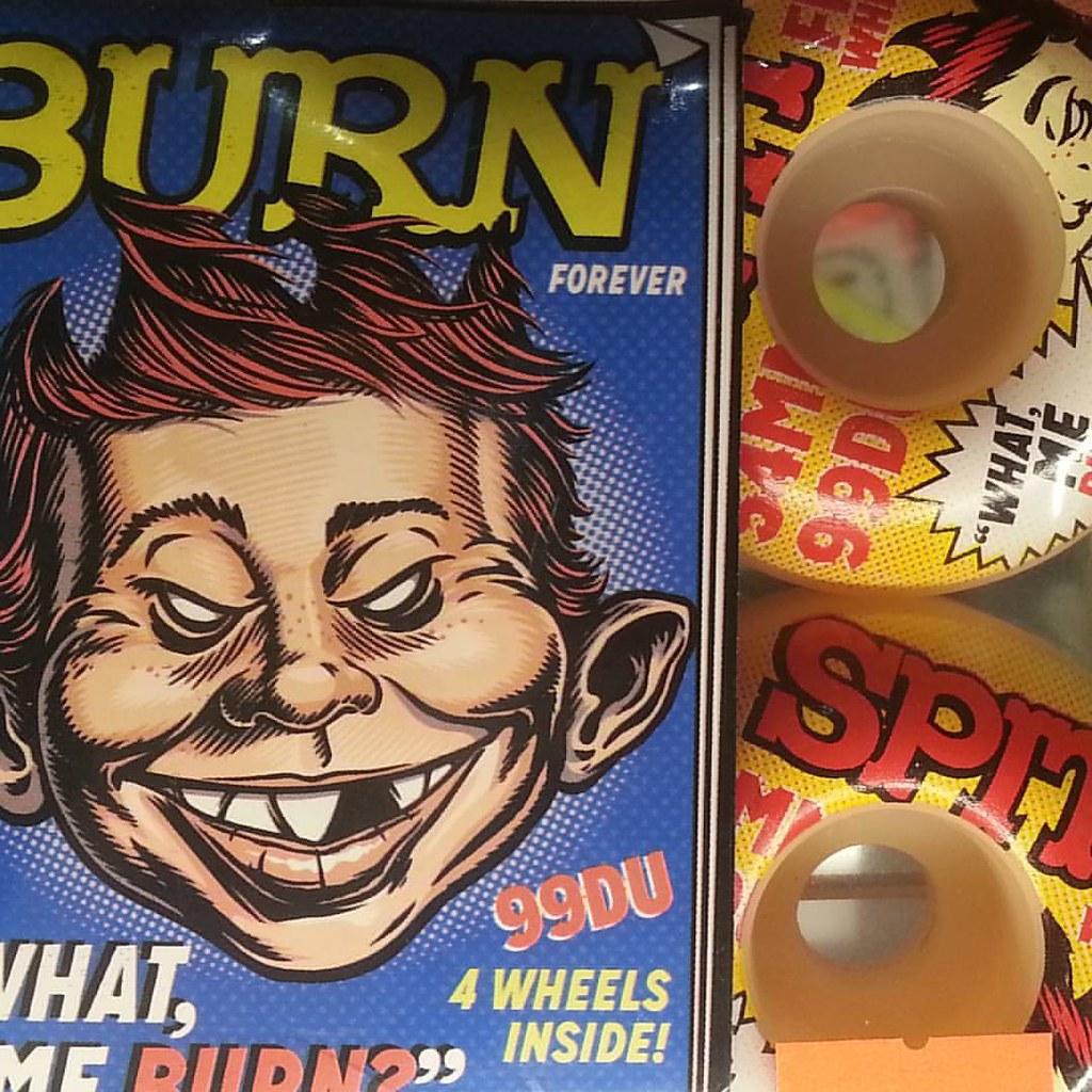 What, me burn? Mad 54 mm Spitfires! #spitfirewheels #burnforever #alfredeneuman #madmagazineicon
