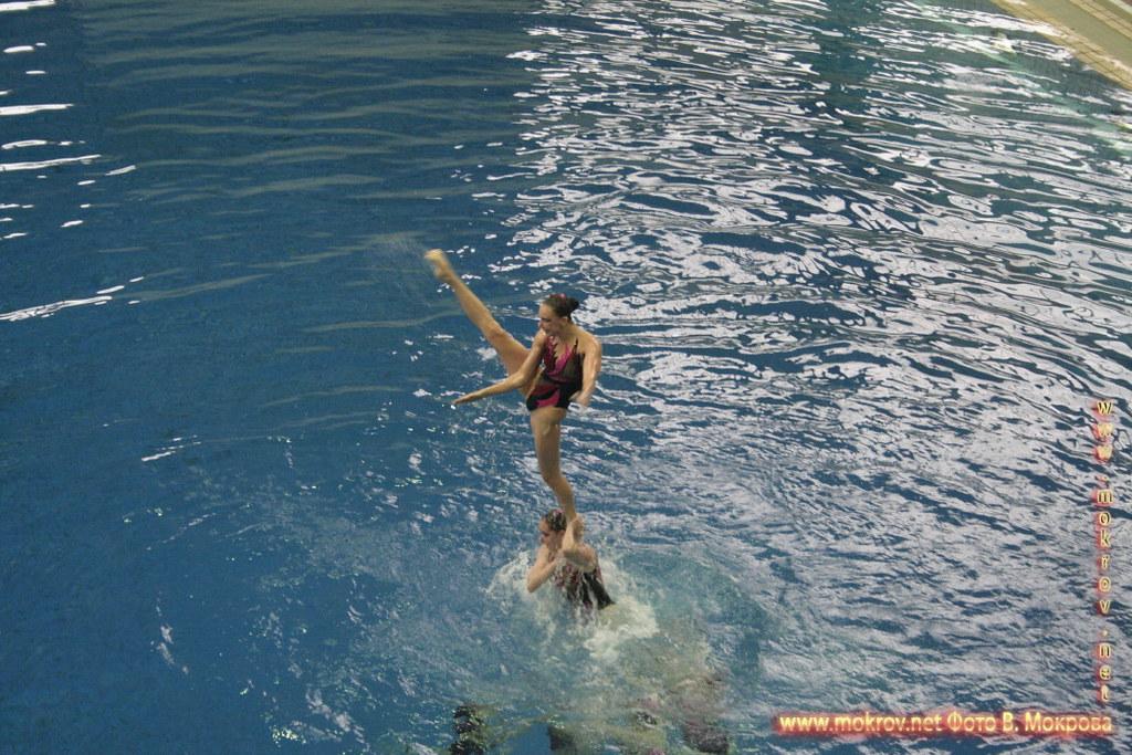Сборная команда России по синхронному плаванию в Фотоискусстве