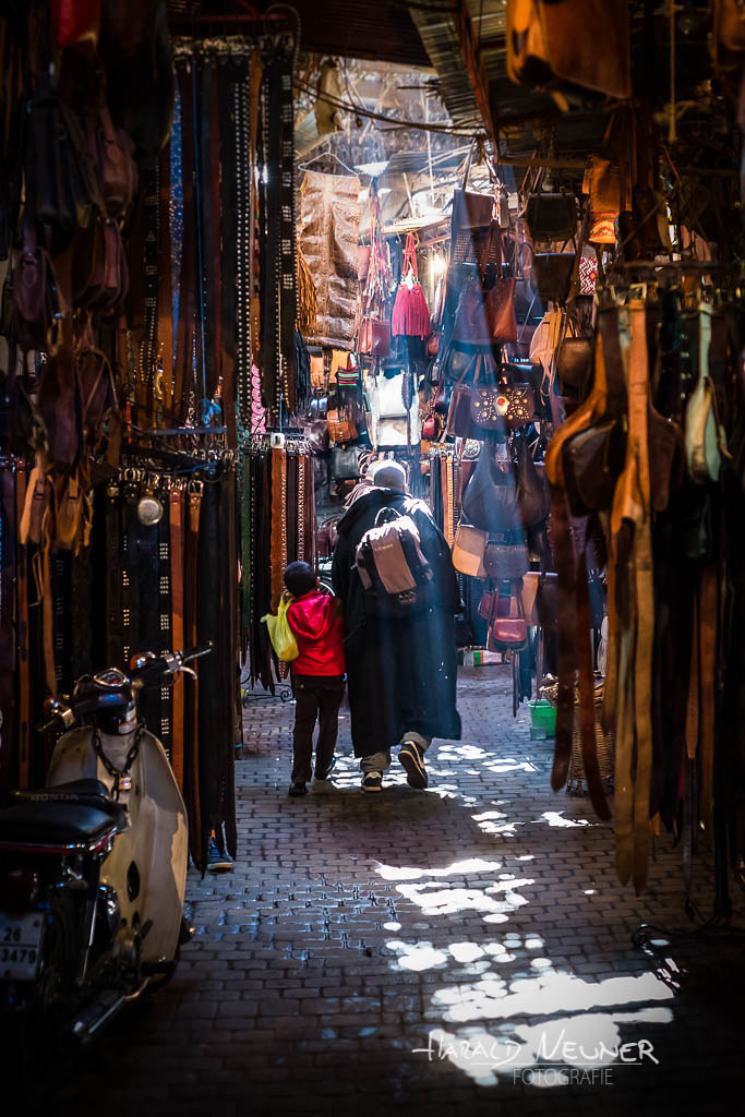 Through the souk