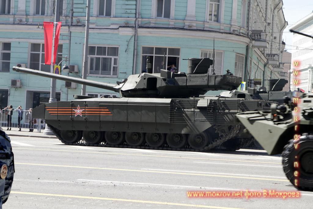 Танк Т-14 Парад победы 2015