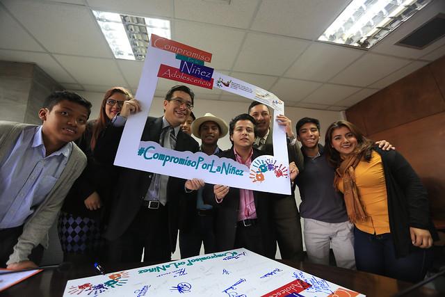 Reunión con representantes de CNNNA en el marco de la campaña Más unidos más protegidos