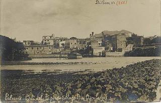 Palermo - Orti del Papireto allagati - 4 aprile 1907