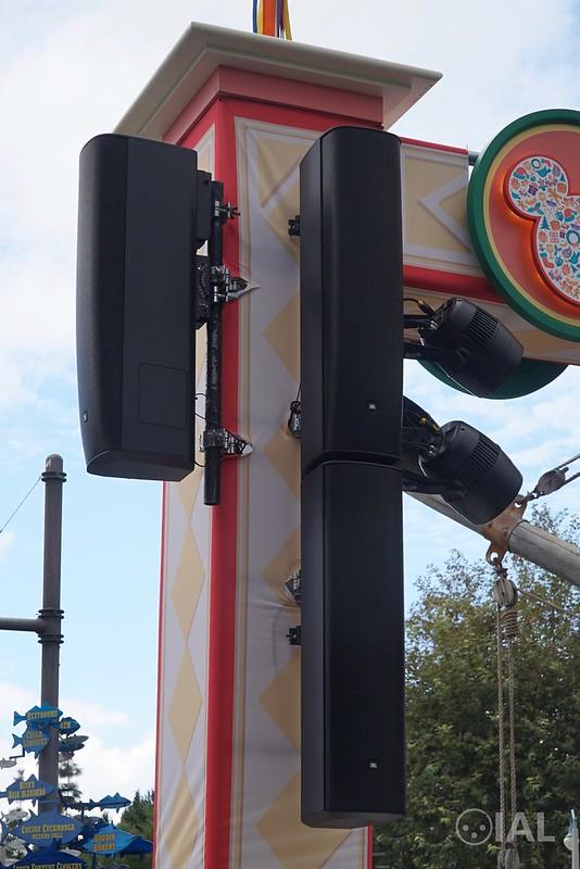 JBL CBT 1000 + CBT 1000E at Disney California Adventure's Festival of Holidays