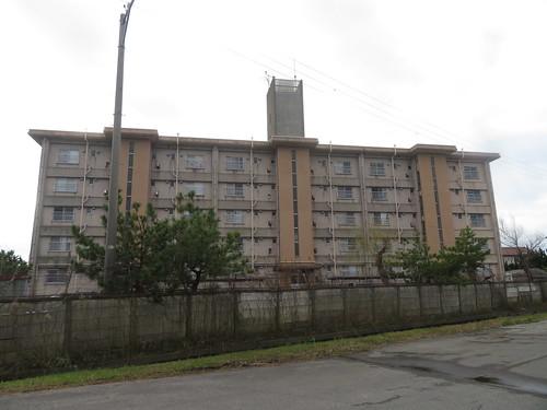 金沢競馬場の裏の湖南アパート