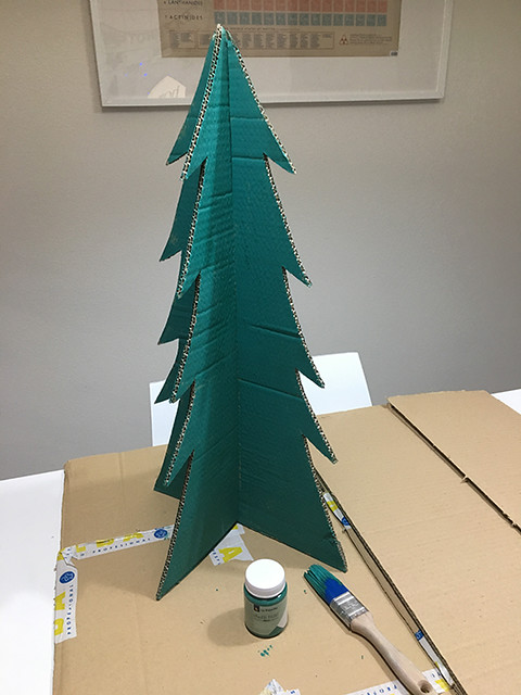 13 Calendario de adviento DIY handmade cartón